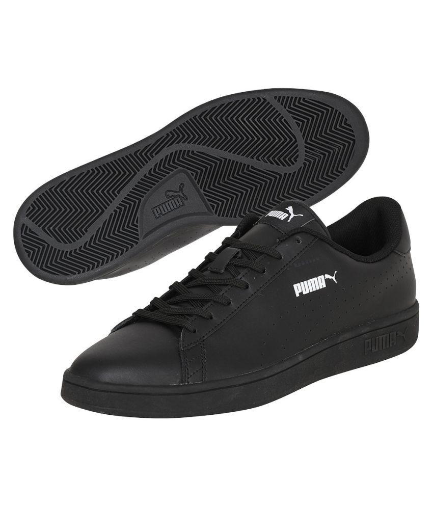 6109d39800c Puma Smash v2 L Perf Sneakers Black Casual Shoes - Buy Puma Smash v2 ...