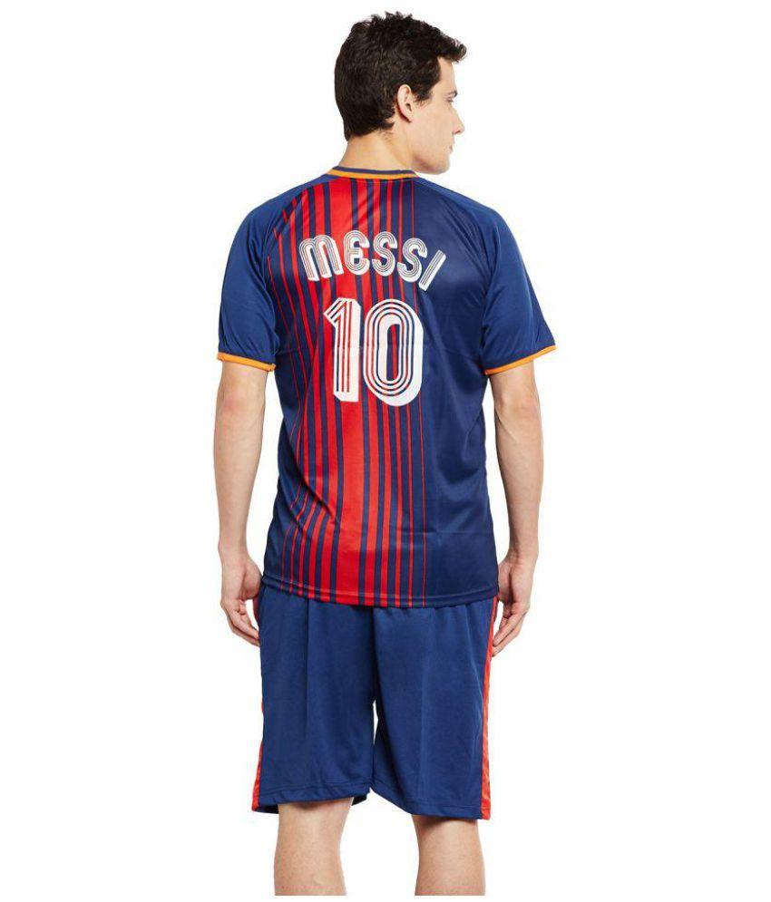 hot sale online 866a5 7a253 Sportigo Replica FC Barcelona Home Football Jersey Set - 2017/18