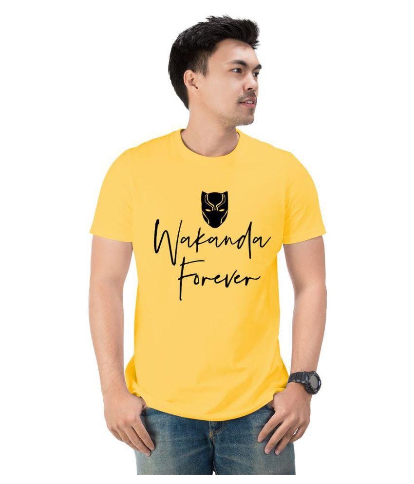 Notydude Yellow Round T-Shirt
