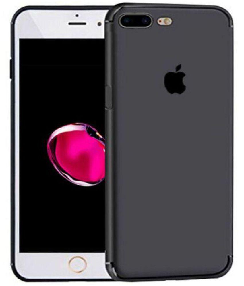 b82d560f588 Apple iPhone 7 Plus Plain Cases Fashion Mania - Black - Plain Back Covers  Online at Low Prices