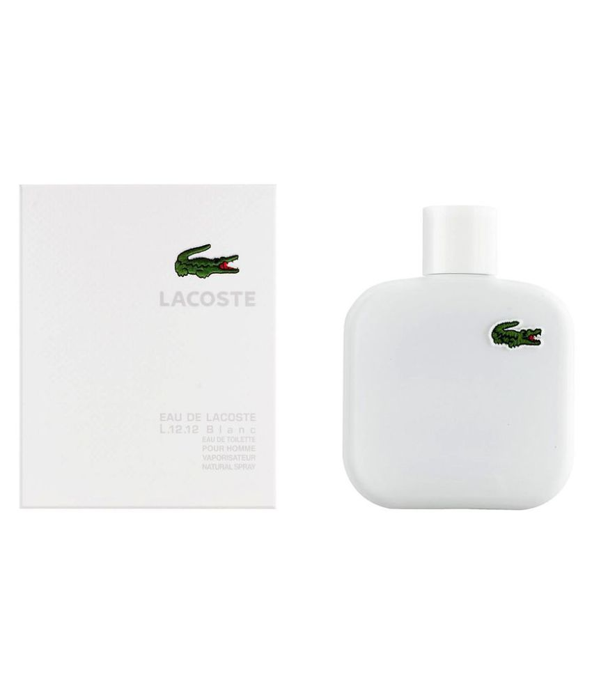 1679789eafe Lacoste Eau De Lacoste L.12.12 White Edt. Men 100 ml  Buy Online at Best  Prices in India - Snapdeal