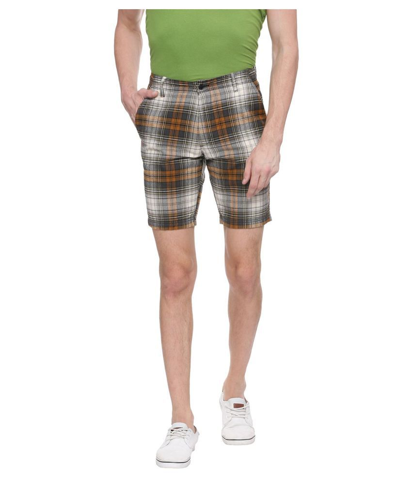Urbantouch Khaki Shorts