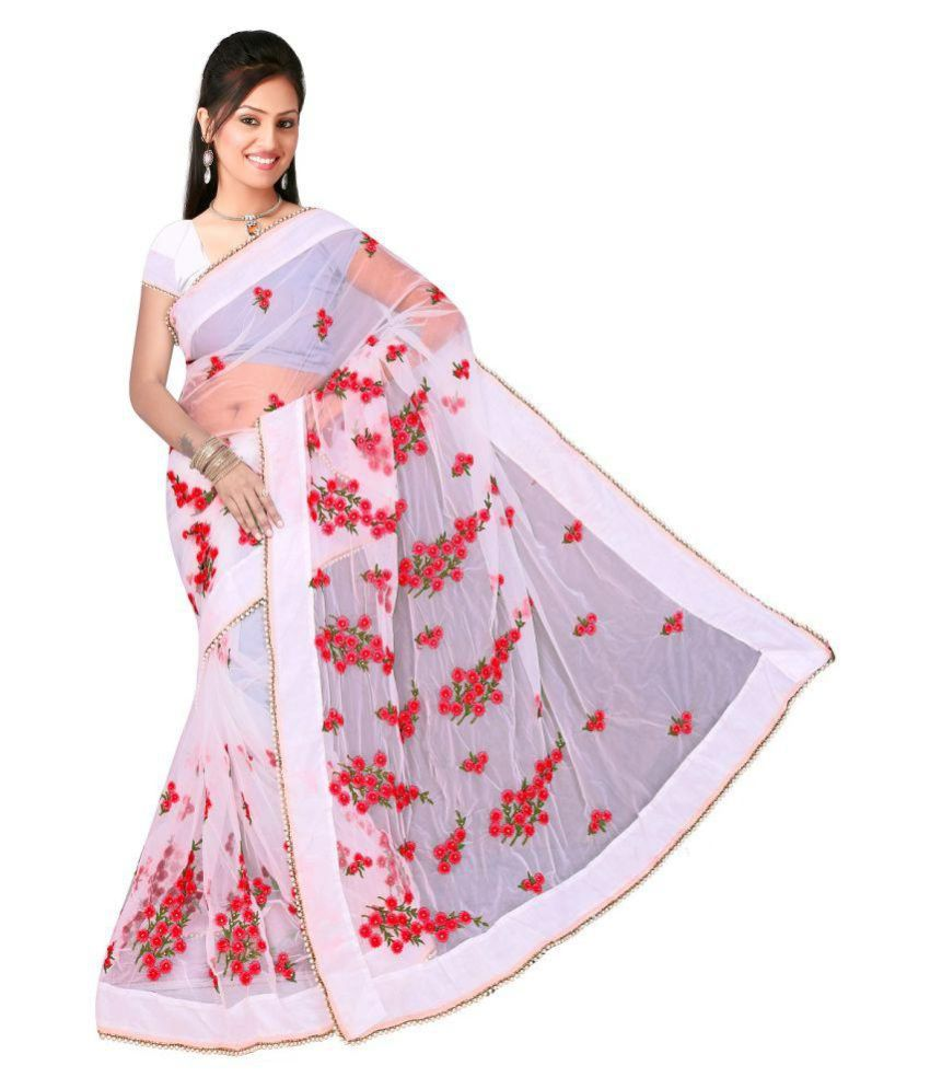 3aa1bfbad4 future india White and Grey Cotton Silk Saree - Buy future india White and  Grey Cotton Silk Saree Online at Low Price - Snapdeal.com