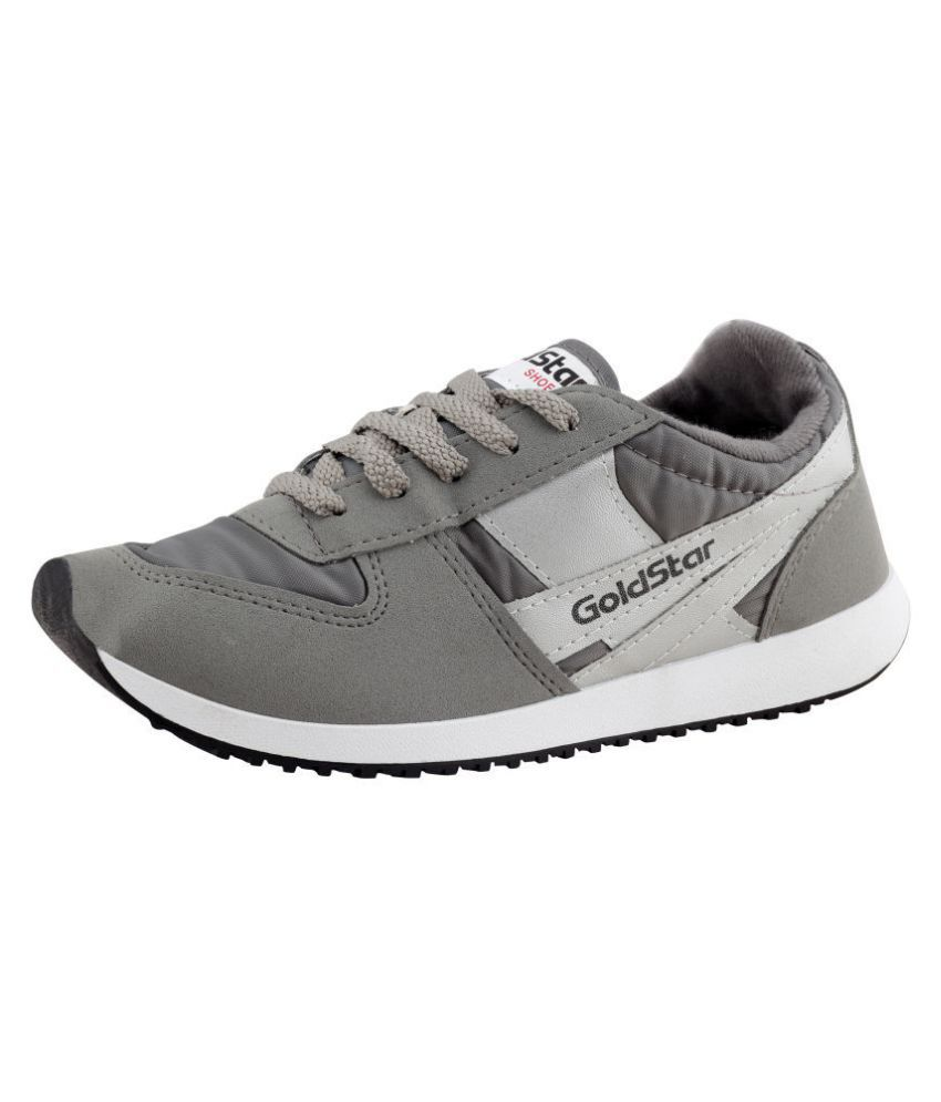 clearance pictures GOLD STAR Gray Running Shoes sale purchase get authentic sale online with paypal 0wdmgkRQ1