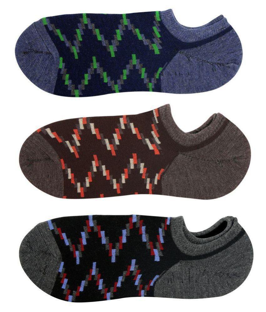 Avyagra Multi Casual Low Cut Socks