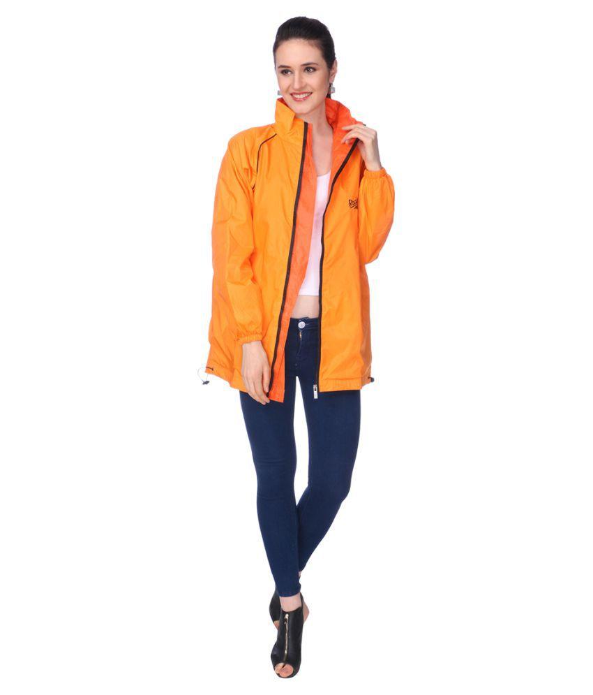 REAL Nylon Short Rainwear - Orange