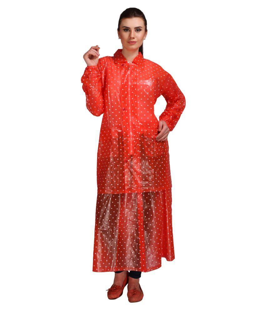 REAL Waterproof Raincoat Set - Red