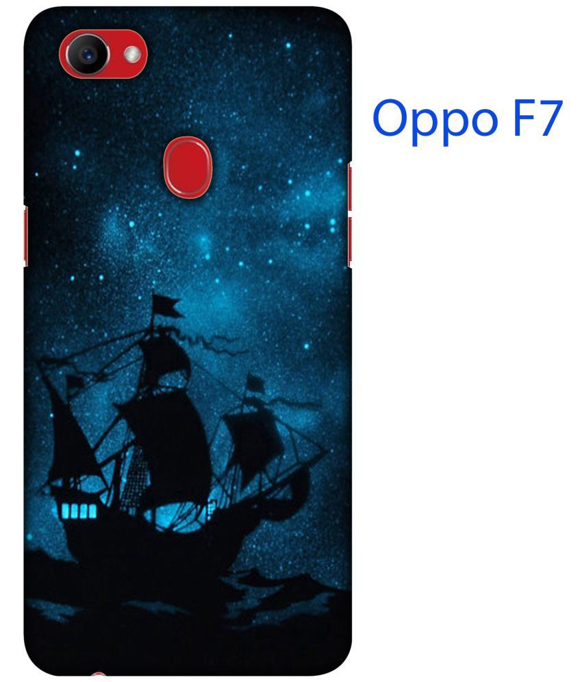 Oppo F7 Printed Cover By Blutec