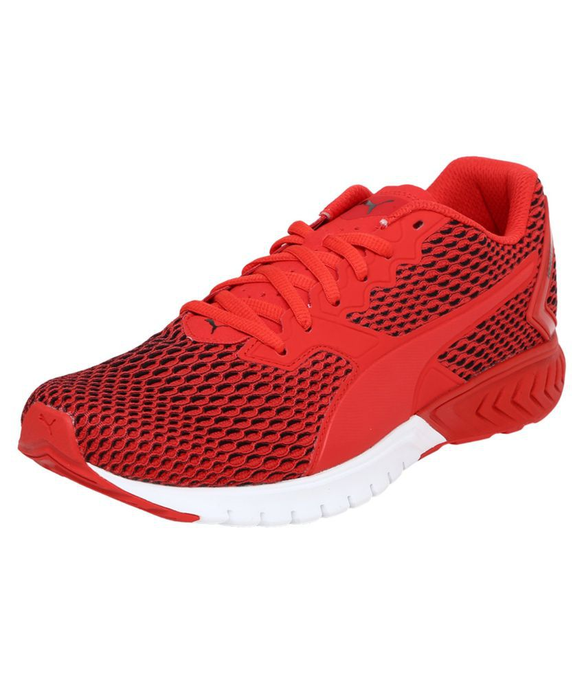 Puma IGNITE Red Running Shoes - Buy