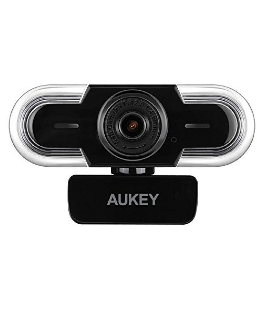 AUKEY Webcam 2K HD with Auto Light Adjustment, Manual Focus and Mic, Live Streaming Camera, USB Webcam for Widescreen Video Callin - Buy AUKEY Webcam 2K HD with Auto Light Adjustment, Manual