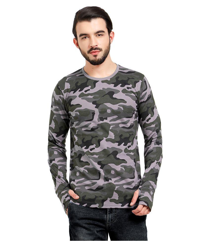 Maniac Grey Round T-Shirt