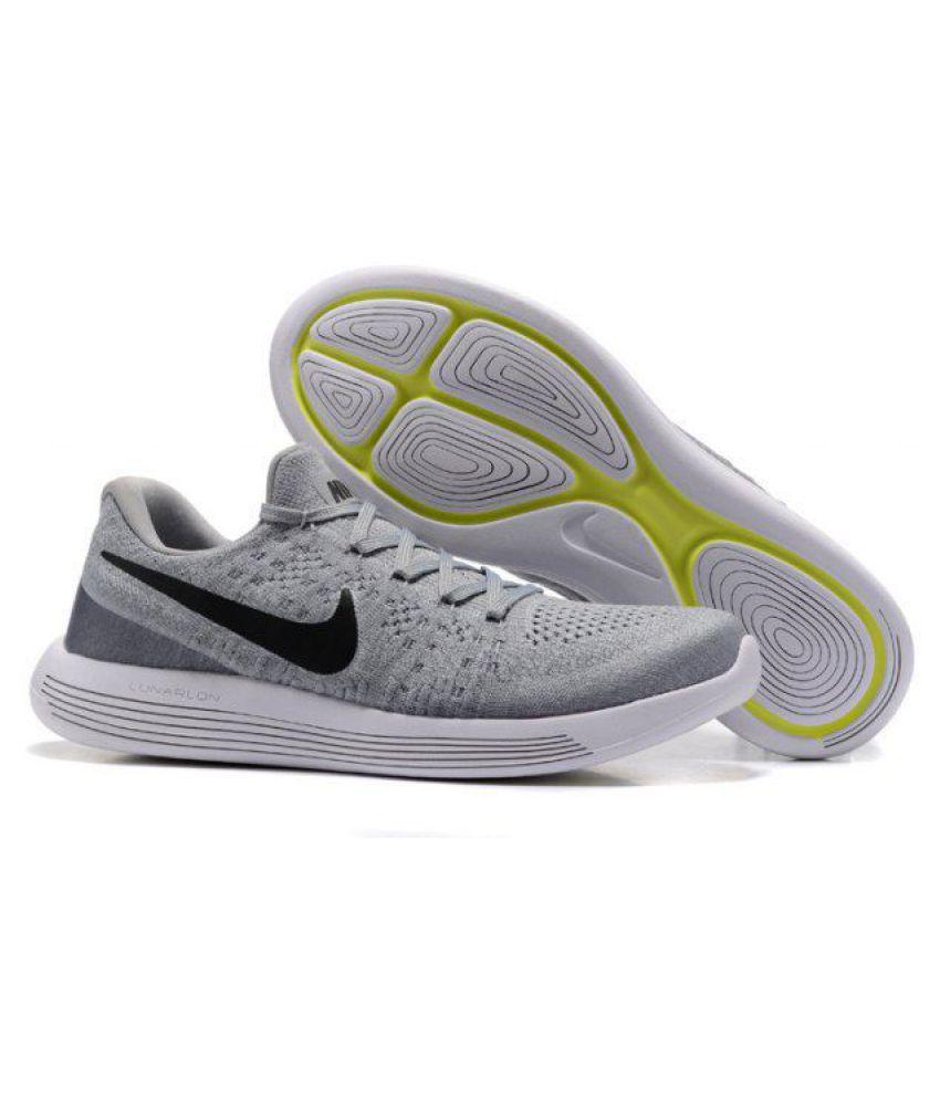 size 40 f4520 68fe6 Nike LunarEpic Low Flyknit 2 Green Running Shoes - Buy Nike LunarEpic Low Flyknit  2 Green Running Shoes Online at Best Prices in India on Snapdeal