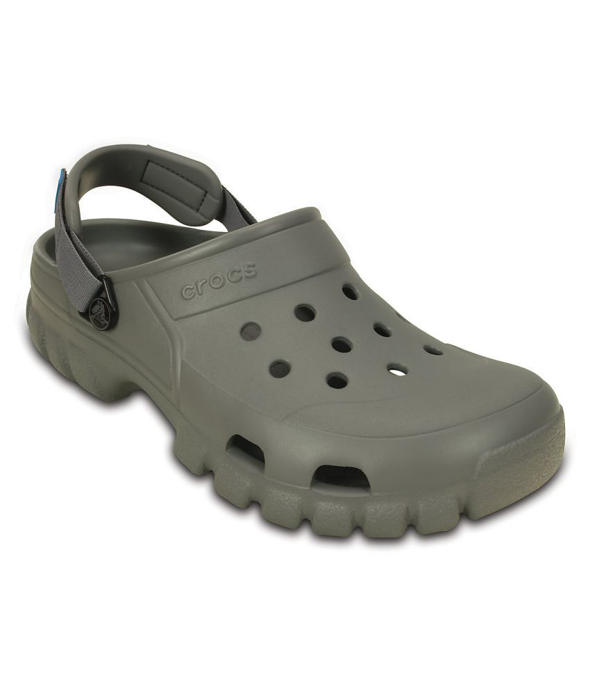 f8cfb317096c1 Crocs Offroad Sport Clog Gray Floater Sandals - Buy Crocs Offroad Sport  Clog Gray Floater Sandals Online at Best Prices in India on Snapdeal
