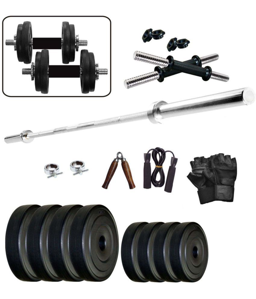 WOLPHY 25 KG HOME GYM SET WITH