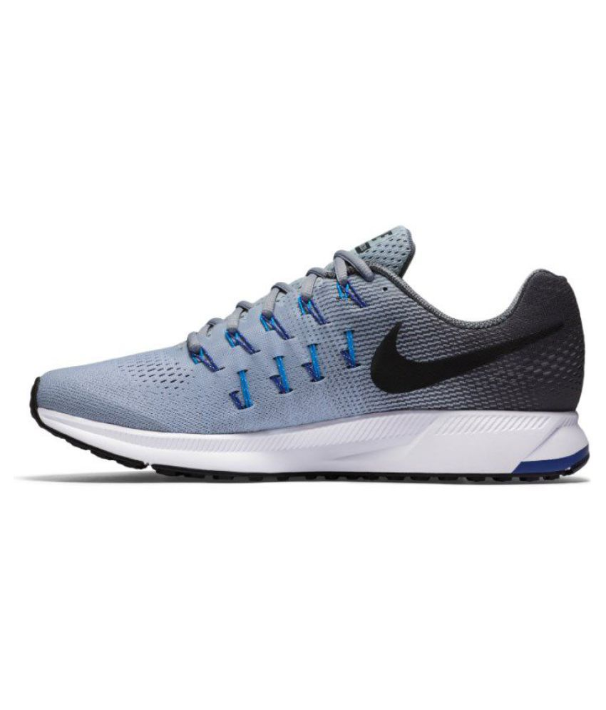 67e5ec4c0 Nike Air zoom 33 pegasus Gray Running Shoes - Buy Nike Air zoom 33 ...