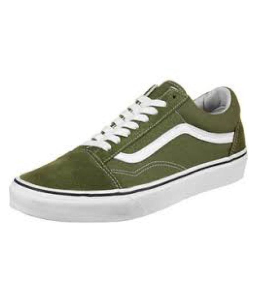 43e8653bb4c0 VANS Old Skool Sneakers Green Casual Shoes - Buy VANS Old Skool Sneakers  Green Casual Shoes Online at Best Prices in India on Snapdeal