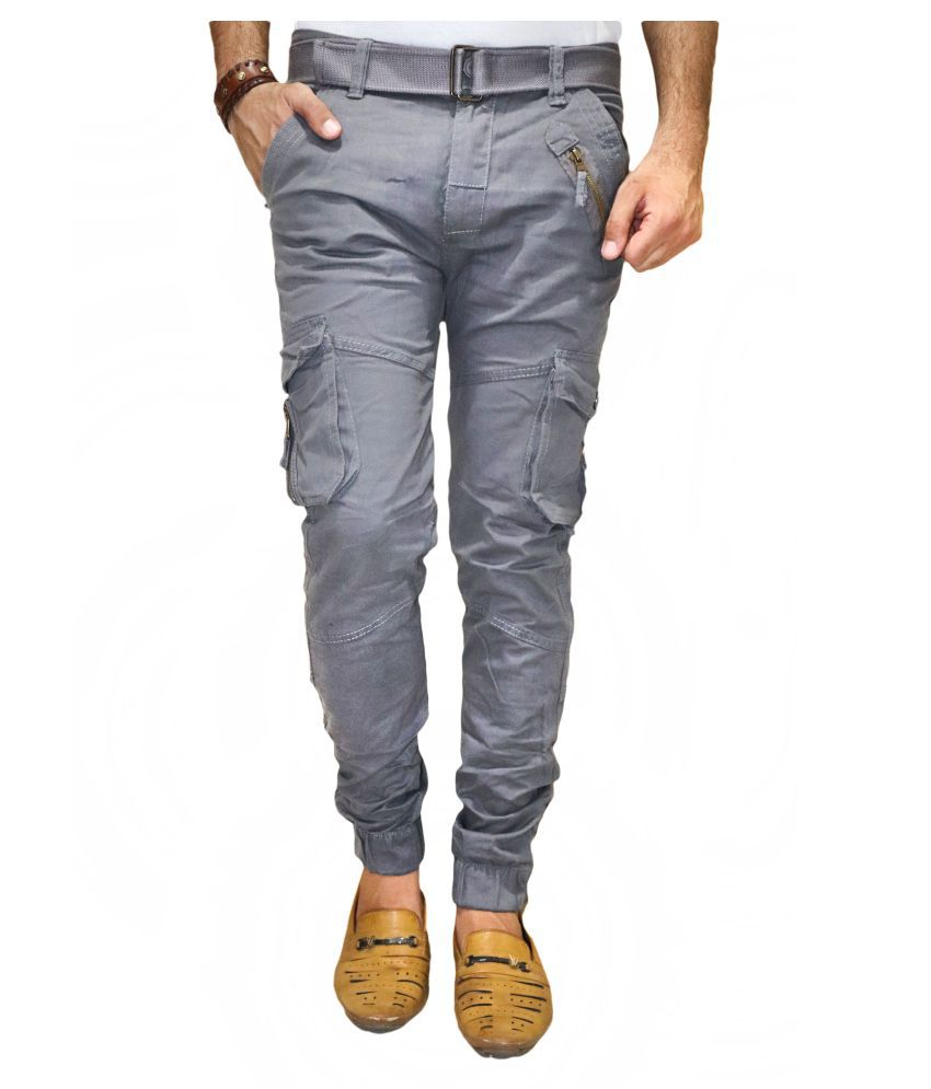 DREAM VISION Grey Straight Jeans