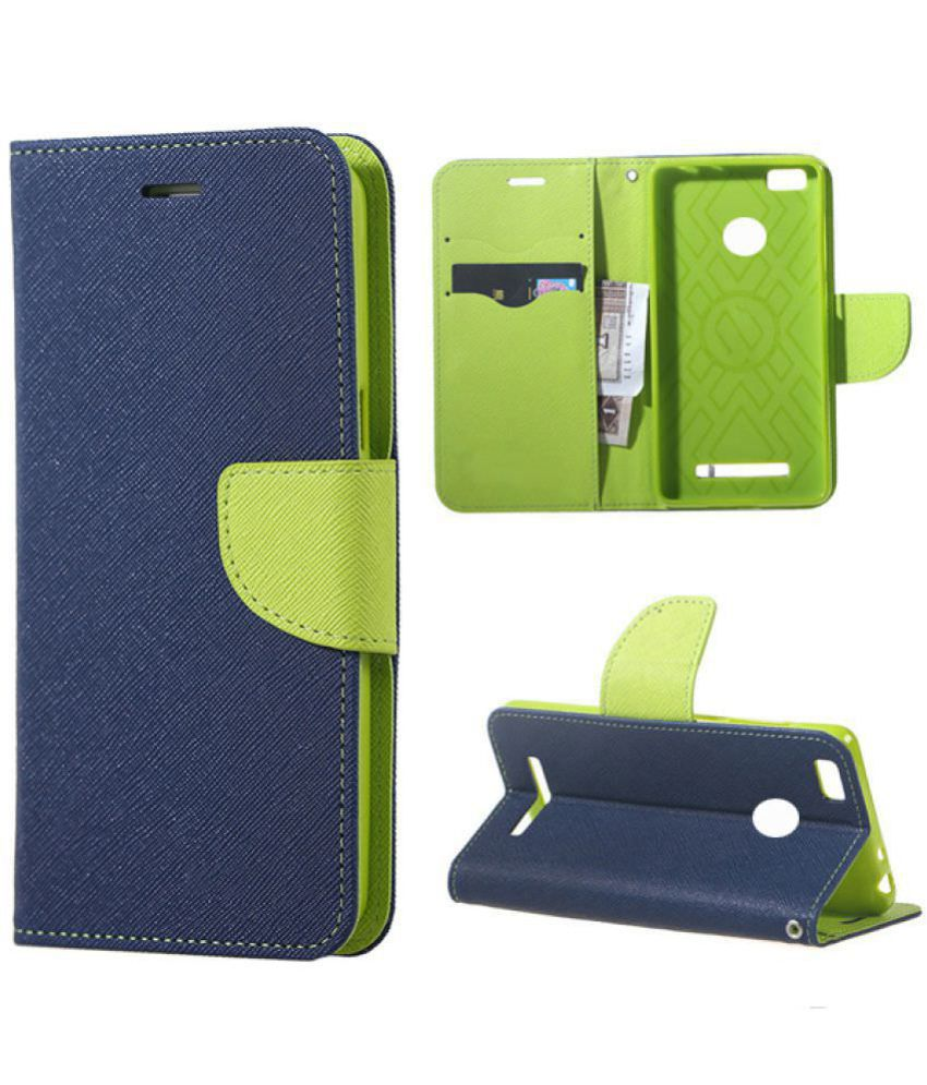 Nokia 6 Flip Cover by Bright traders - Blue