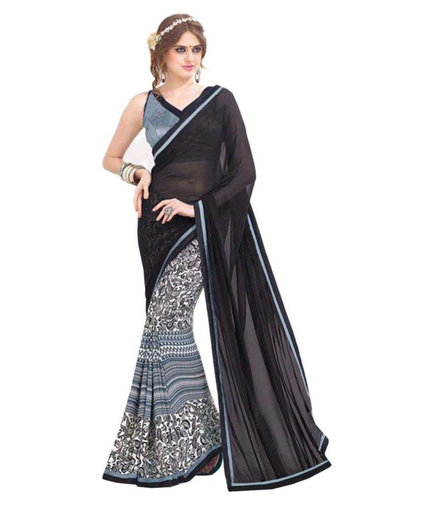 af71a76525 Zofey Bollywood Designer Sarees Grey Georgette Saree - Buy Zofey Bollywood  Designer Sarees Grey Georgette Saree Online at Low Price - Snapdeal.com