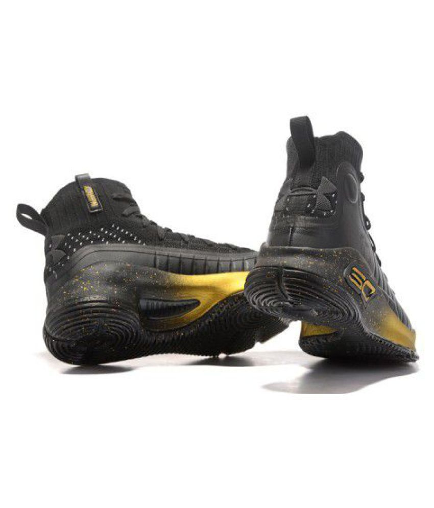 Under Armour STEPHEN CURRY 4 Black Basketball Shoes - Buy Under ... 08560c63121b