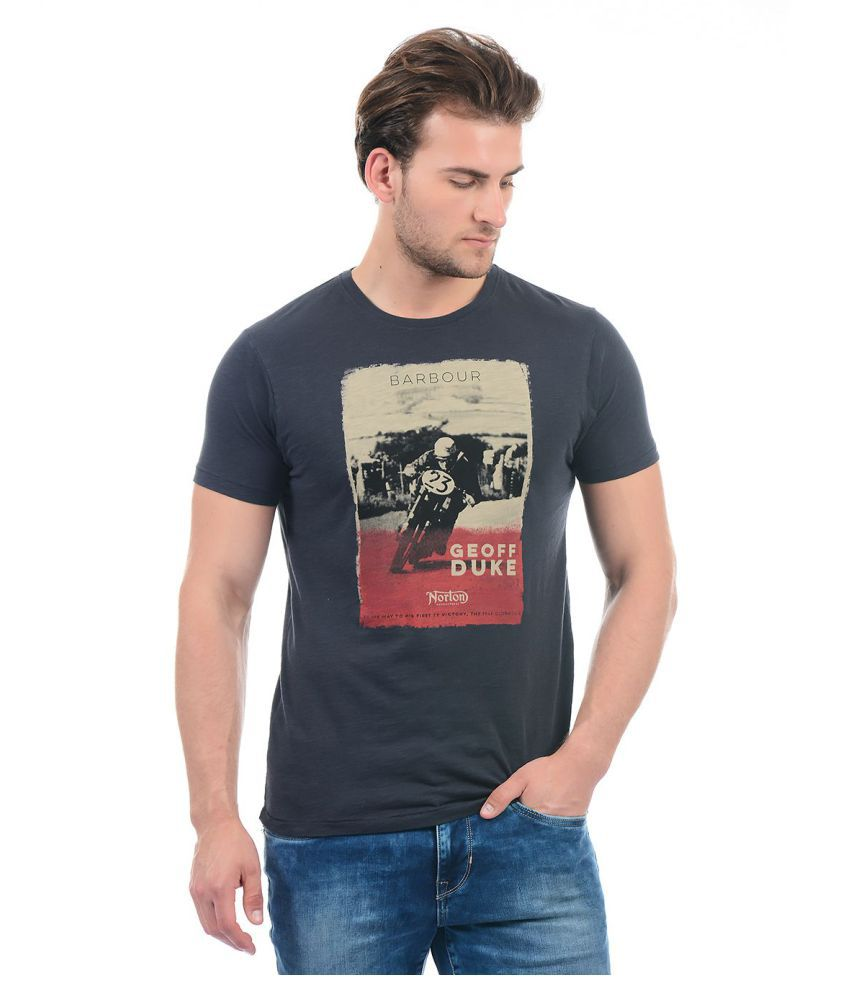 Pepe Jeans Grey Round T-Shirt