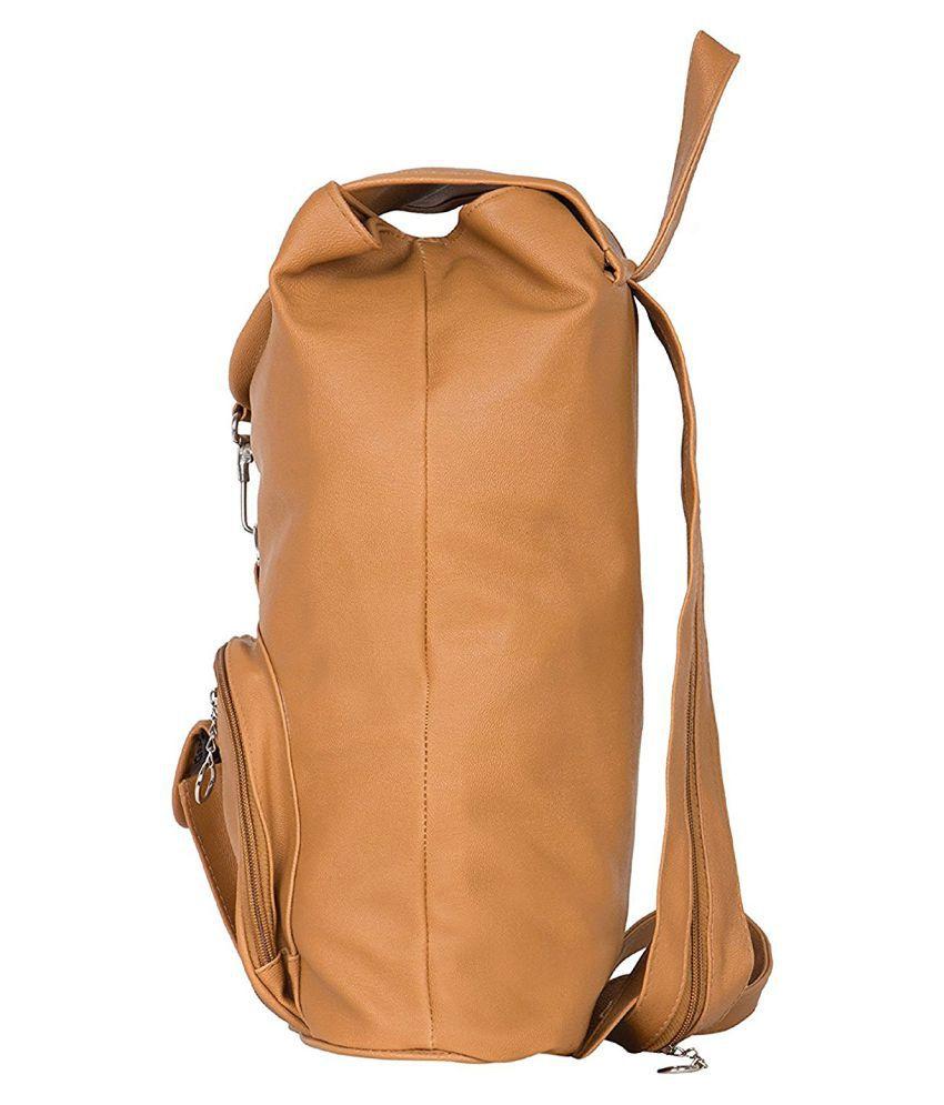 660737ed3 Bizarre Vogue Stylish College Bags Backpacks For Women   Girls (Mustard