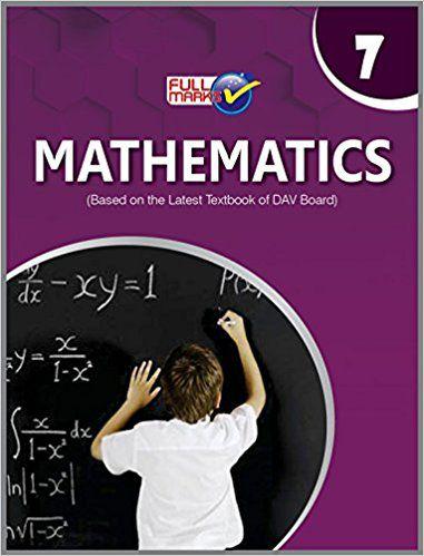 Full Marks Dav Mathematics Class 7