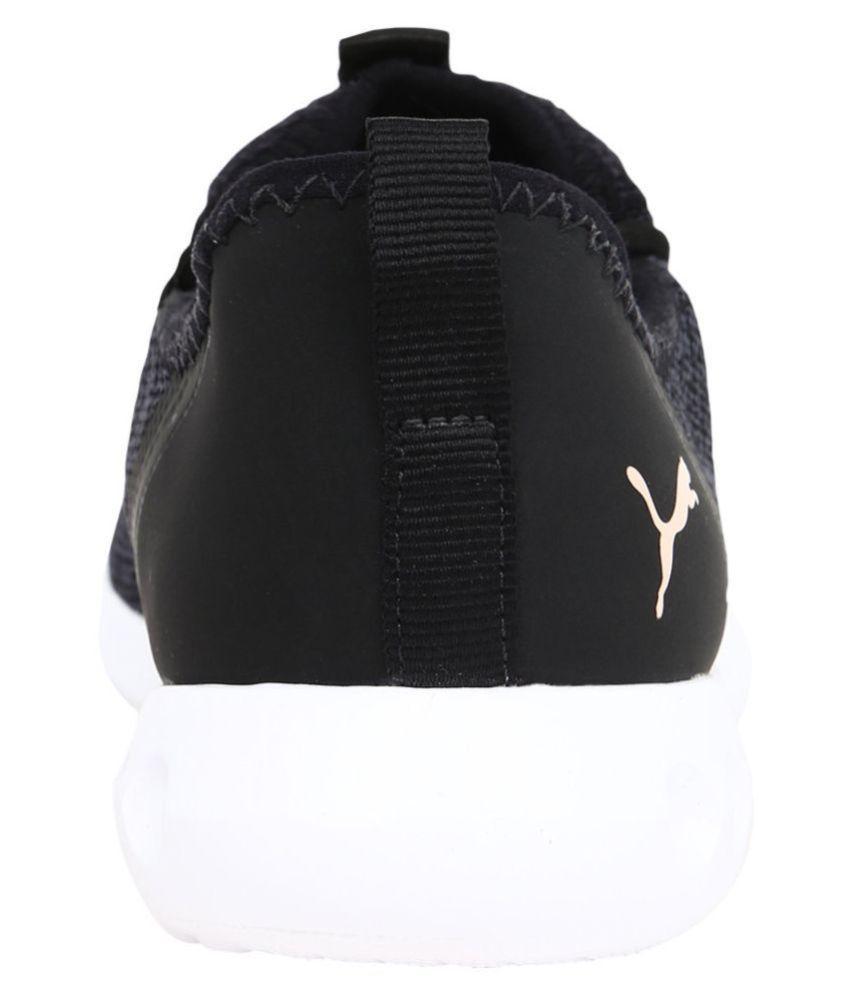 177ad8446f8 Puma Carson 2 X Knit IDP Black Running Shoes - Buy Puma Carson 2 X ...