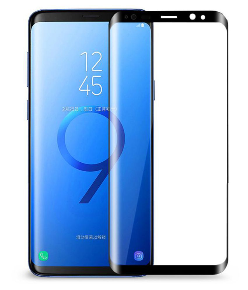 Samsung Galaxy S9 Plus 5D Tempered Screen Guard By Mobilekabazaar - Mobile  Screen Guards Online at Low Prices | Snapdeal India