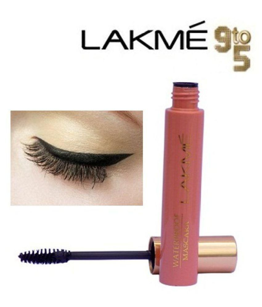 Best Waterproof Mascara 2020 Lakme 9 To 5 Waterproof Mascara Black 10 ml: Buy Lakme 9 To 5