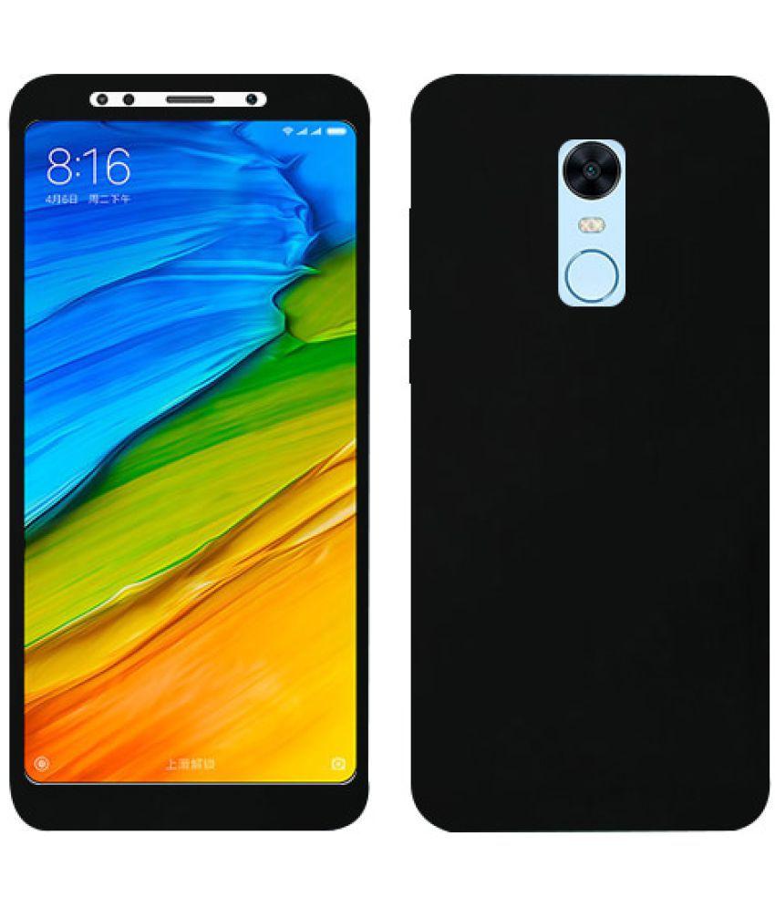 Xiaomi Redmi 5 Plain Cases Doyen Creations - Black