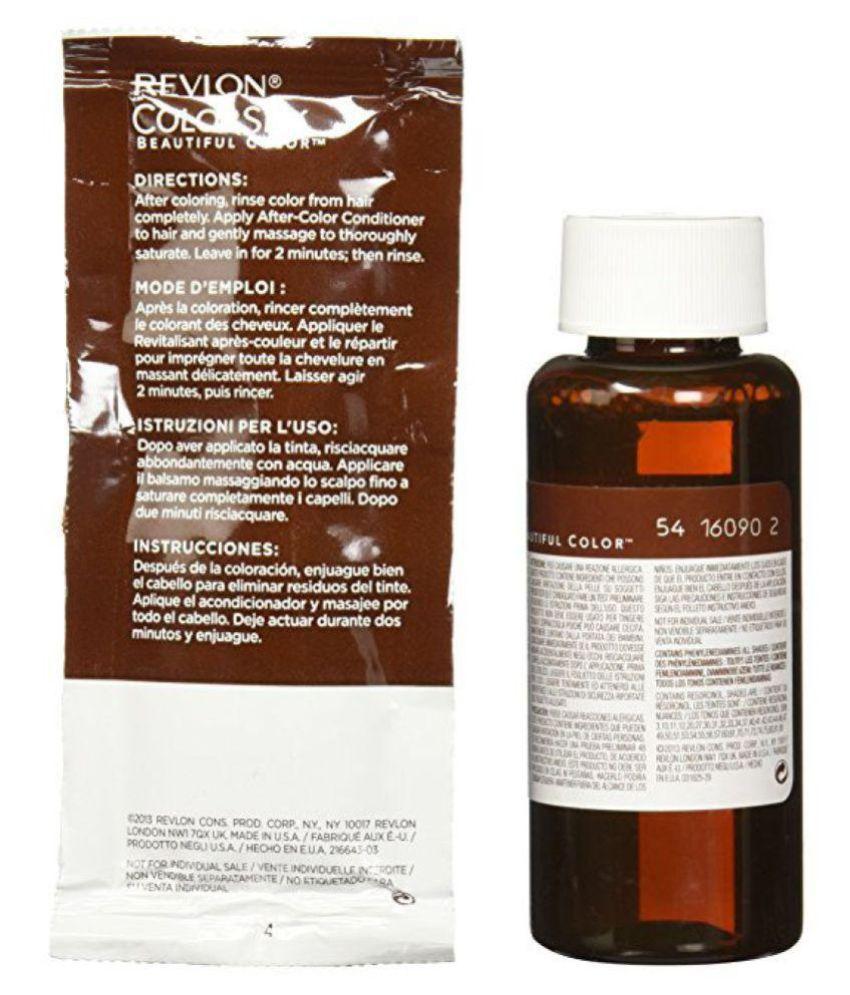 Revlon Permanent Hair Color Brown 1 Gm Buy Revlon Permanent Hair