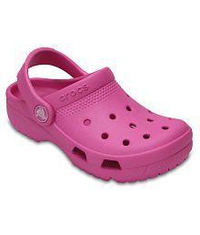 Crocs Kids Coast Pink Clogs