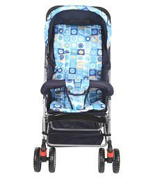 Mee Mee Comfortable Pram with 3 seating position (Navy)
