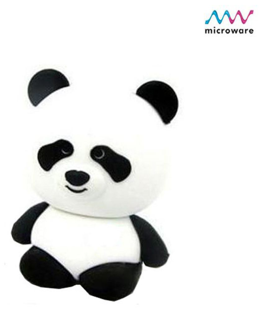 Microware Panda 4GB USB 2.0 Fancy Pendrive Pack of 1