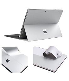 JRC- Silver Ultra-thin TOP Case Decals Skins for Microsoft Surface PRO 4 & Surface Pro New ( 2017 Released), Sticker Fit Laptop BA