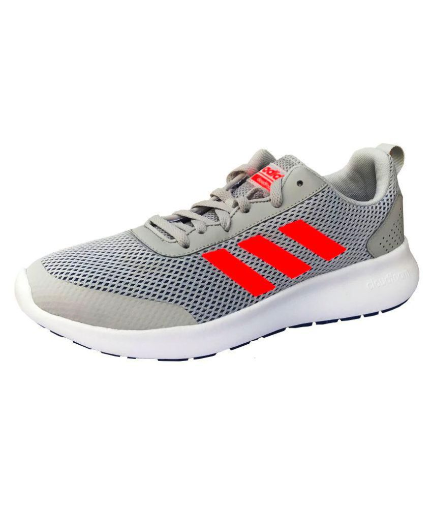 newest 215f1 2a98f Adidas CF Element Race Men's Gray Running Shoes