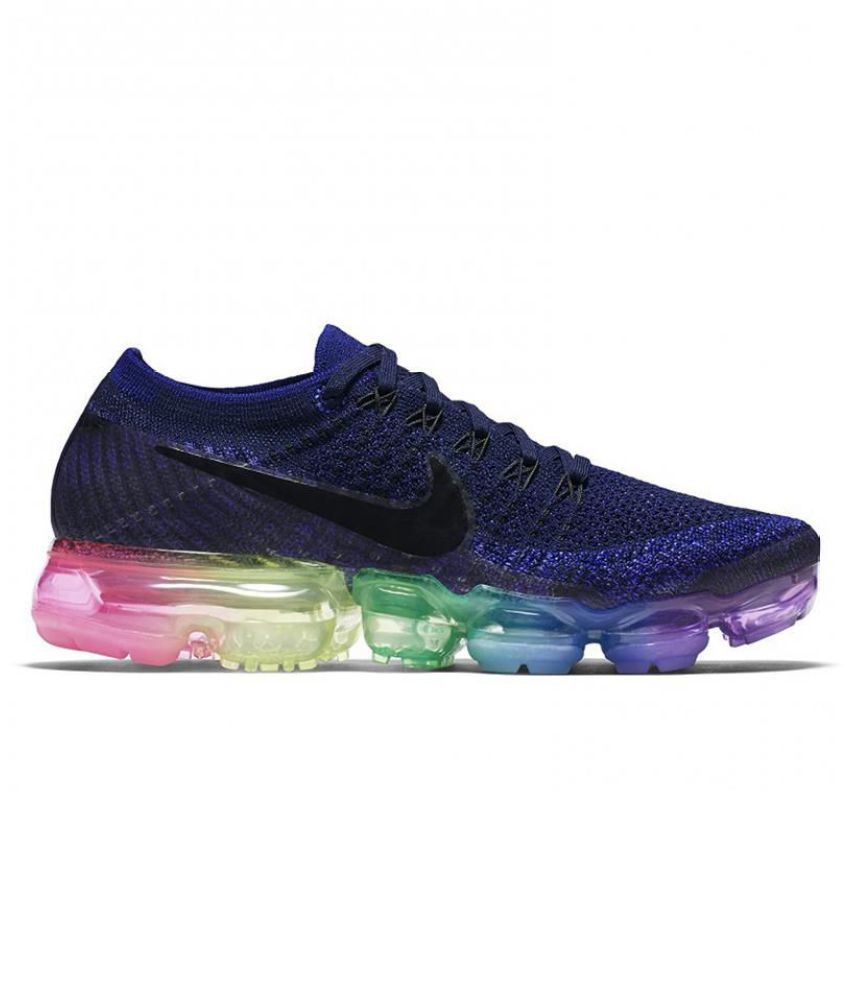 2a7b39a7fe Nike AIR VAPORMAX FLYKNIT Navy Blue Training Shoes - Buy Nike AIR VAPORMAX  FLYKNIT Navy Blue Training Shoes Online at Best Prices in India on Snapdeal