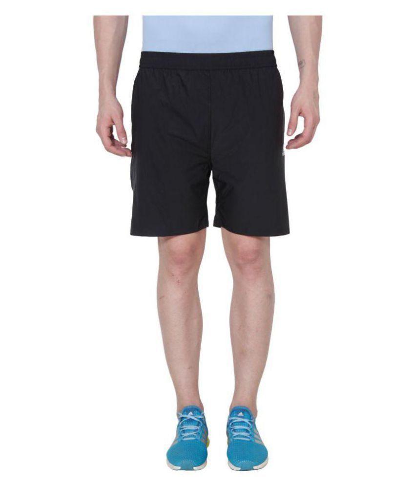 Adidas Black and Blue Shorts