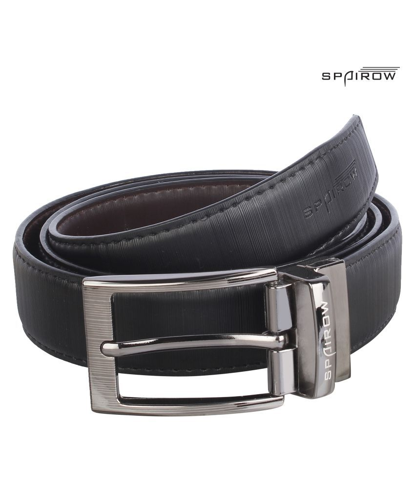 Spairow Brown Faux Leather Formal Belts