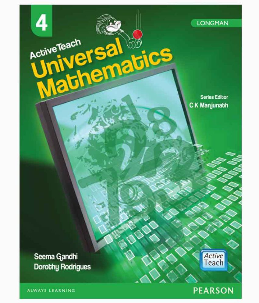 Active Teach: Universal Mathematics for CBSE Class 4 by Pearson: Buy ...