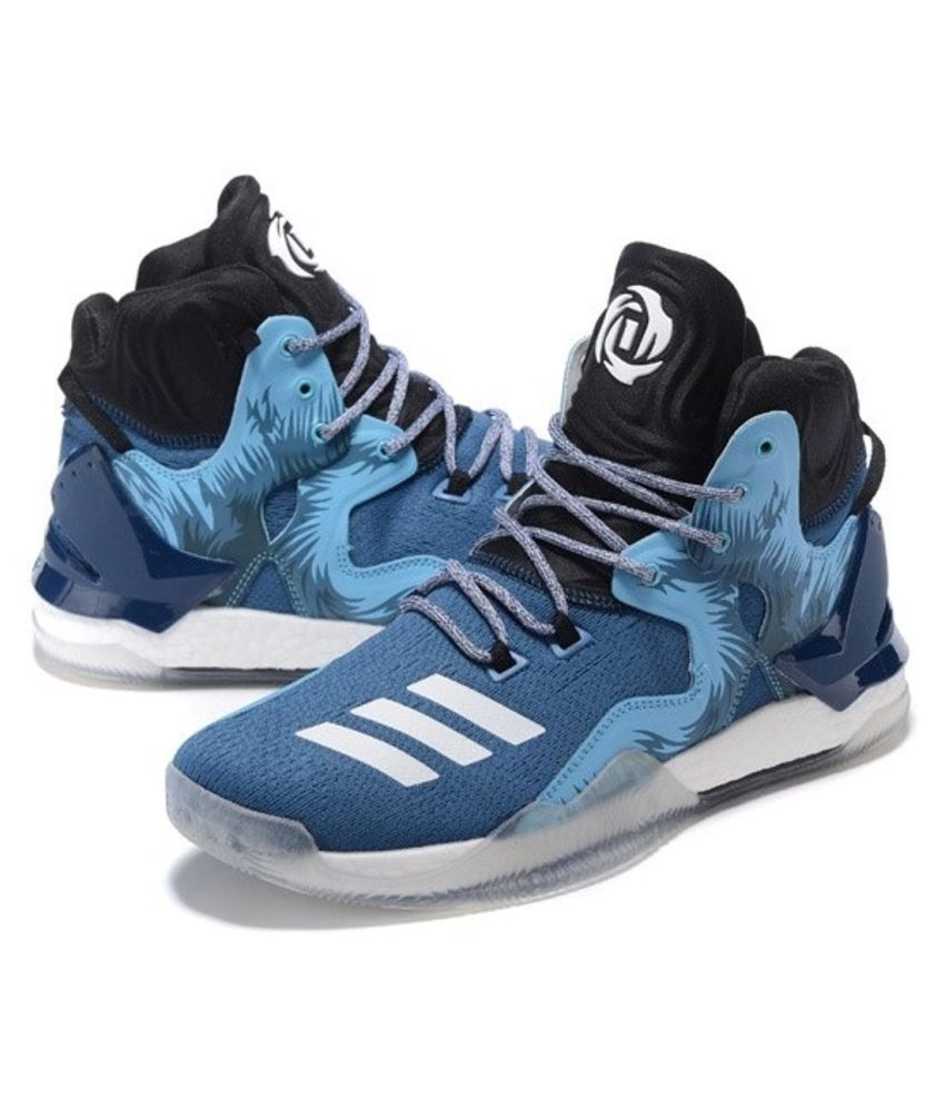 acaf07e7ca96 Adidas D ROSE 7 PRIMEKNIT Blue Basketball Shoes - Buy Adidas D ROSE 7  PRIMEKNIT Blue Basketball Shoes Online at Best Prices in India on Snapdeal