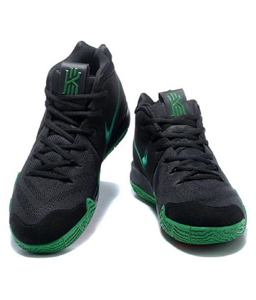 60680aefbaba Nike Kyrie 4 Black Basketball Shoes Nike Kyrie 4 Black Basketball Shoes ...