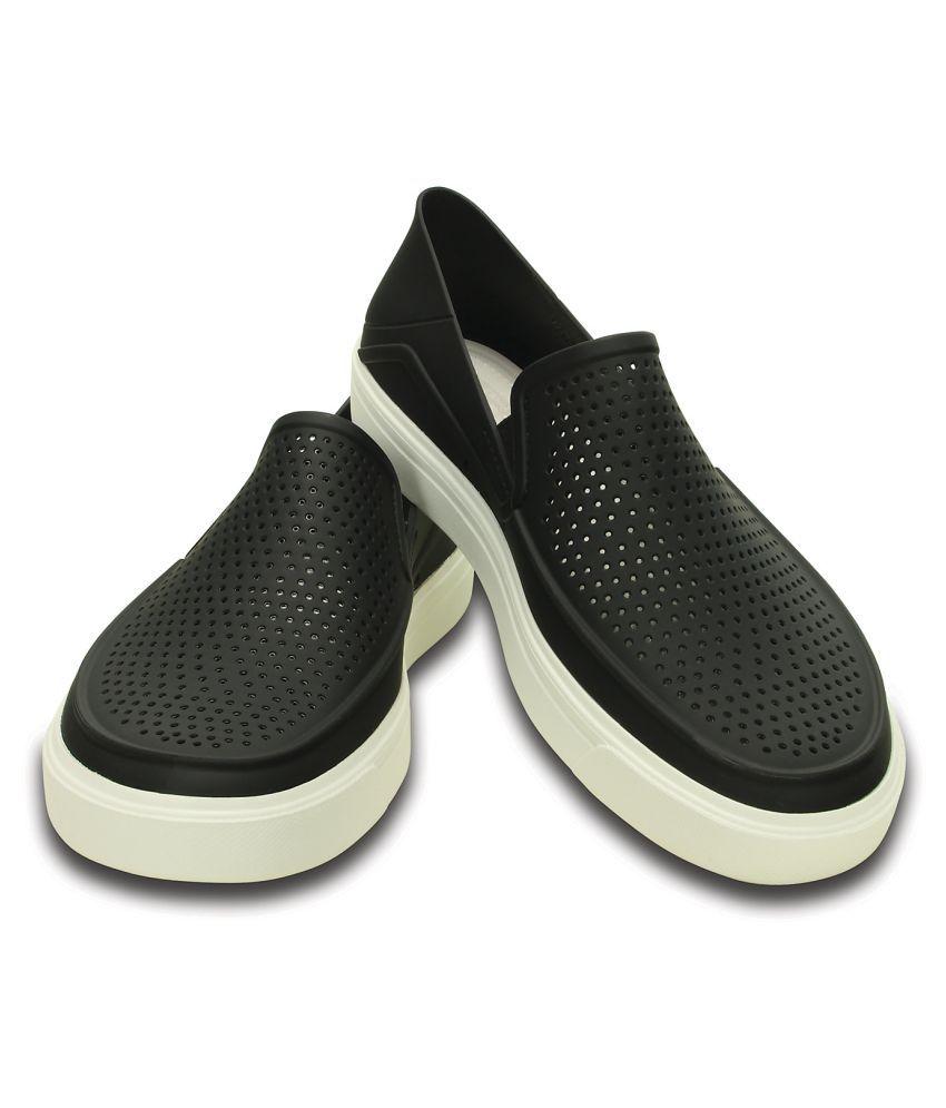 63d07bc8d937 Crocs CitiLane Roka Slip-on M Lifestyle Black Casual Shoes - Buy ...