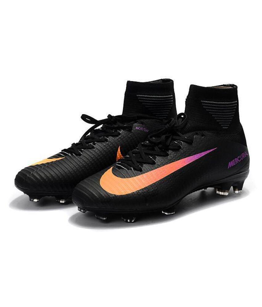 Nike MERCURIAL SUPERFLY CR7 Black Football Shoes - Buy Nike ... 1a72aa29fc