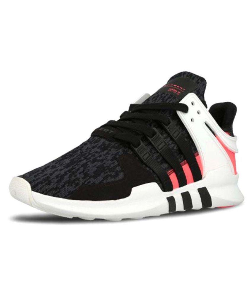 super popular 54b29 256a6 Adidas Equipment EQT 91-16 Black Orange Multi Color Running Shoes
