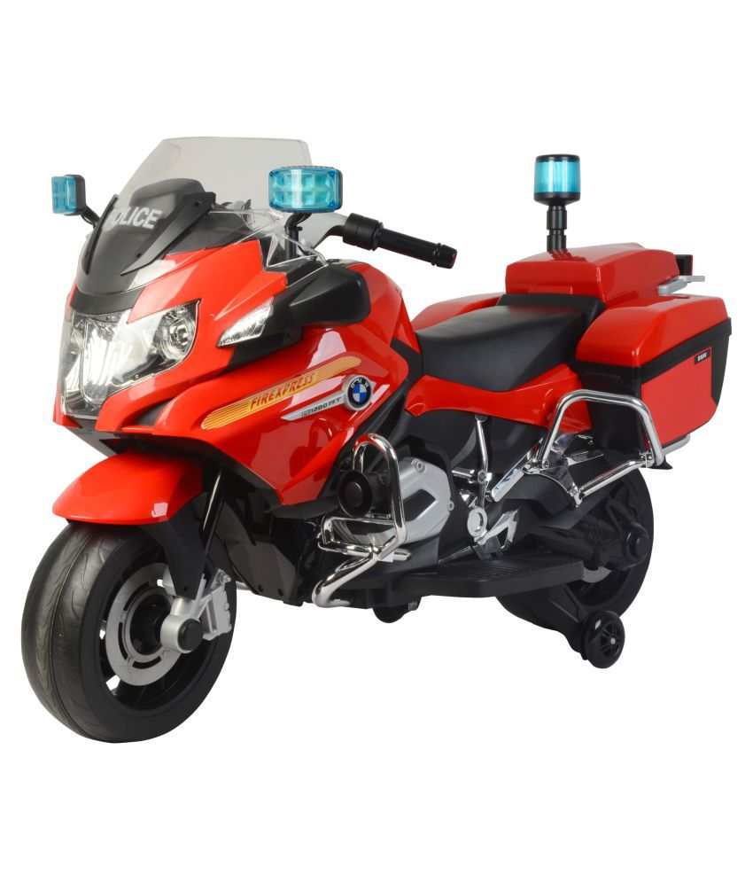 Toyhouse Bmw R 1200 Rt Police Motorcycle 12v Red