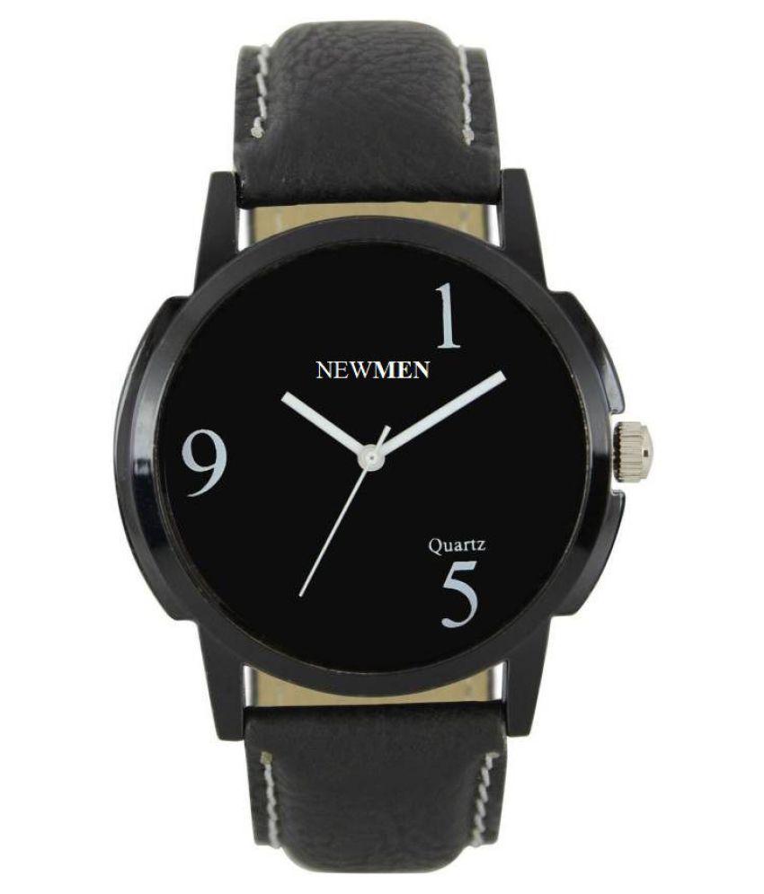 newmen 006 Leather Analog Men #039;s Watch