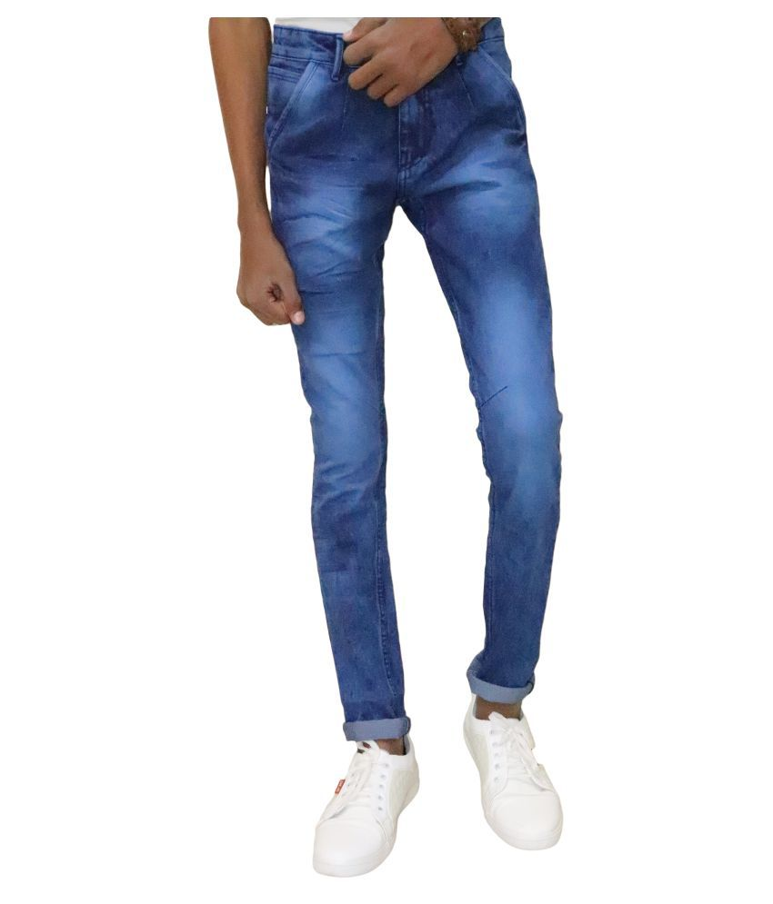 DREAM VISION Blue Regular Fit Jeans
