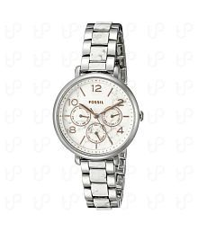 Fossil Original ES3939 Womens Jacqueline White Stainless Steel Watch 36mm6